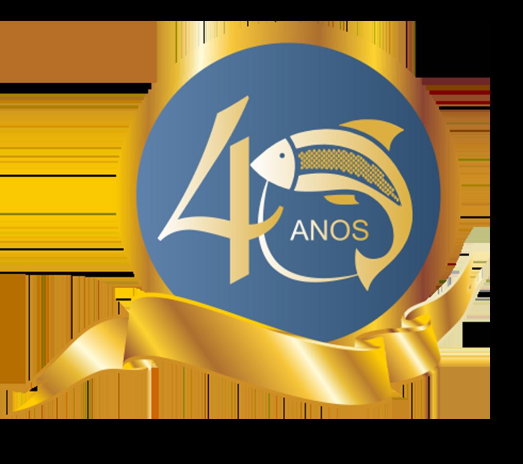 LOGO ANIVERSÁRIO 40 ANOS