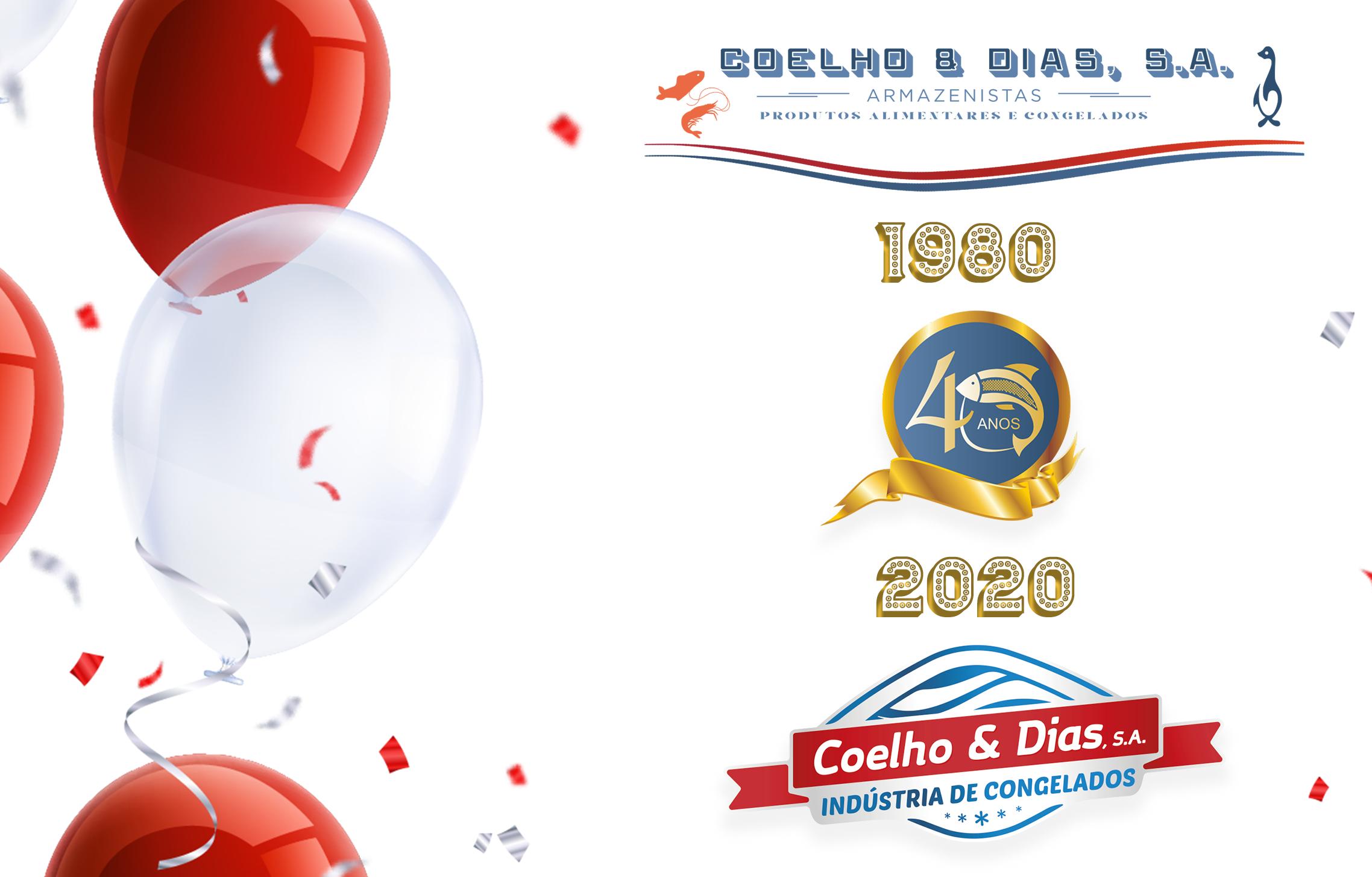 ANIVERSÁRIO 40 ANOS COELHO E DIAS